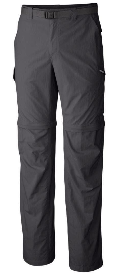 Columbia Silver Ridge Convertible Pant Grau, Male Hose, 28 -32