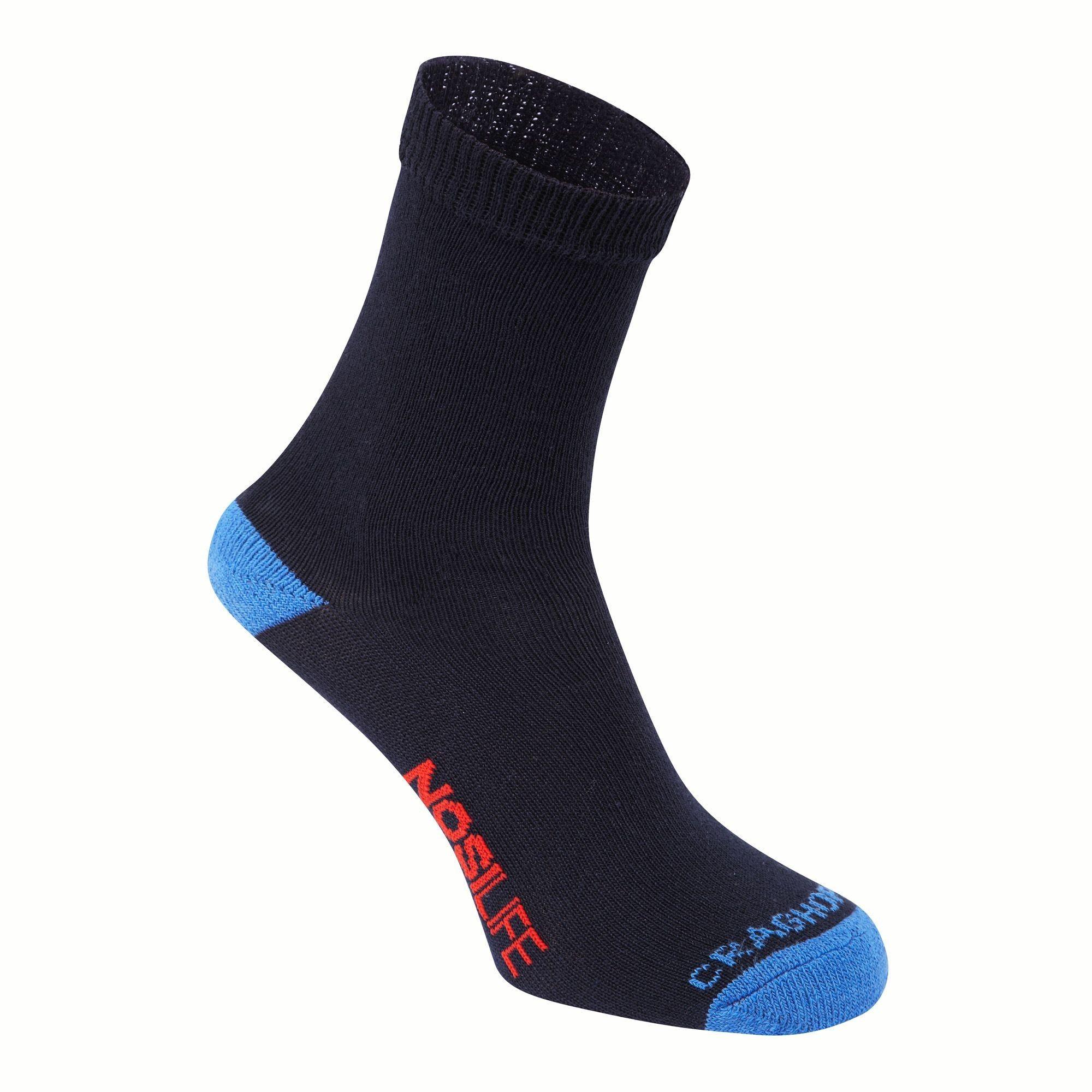 Craghoppers Kids Nosilife Travel Socken Blau, Daunen EU 19-23-UK 3-6 -Farbe Dark