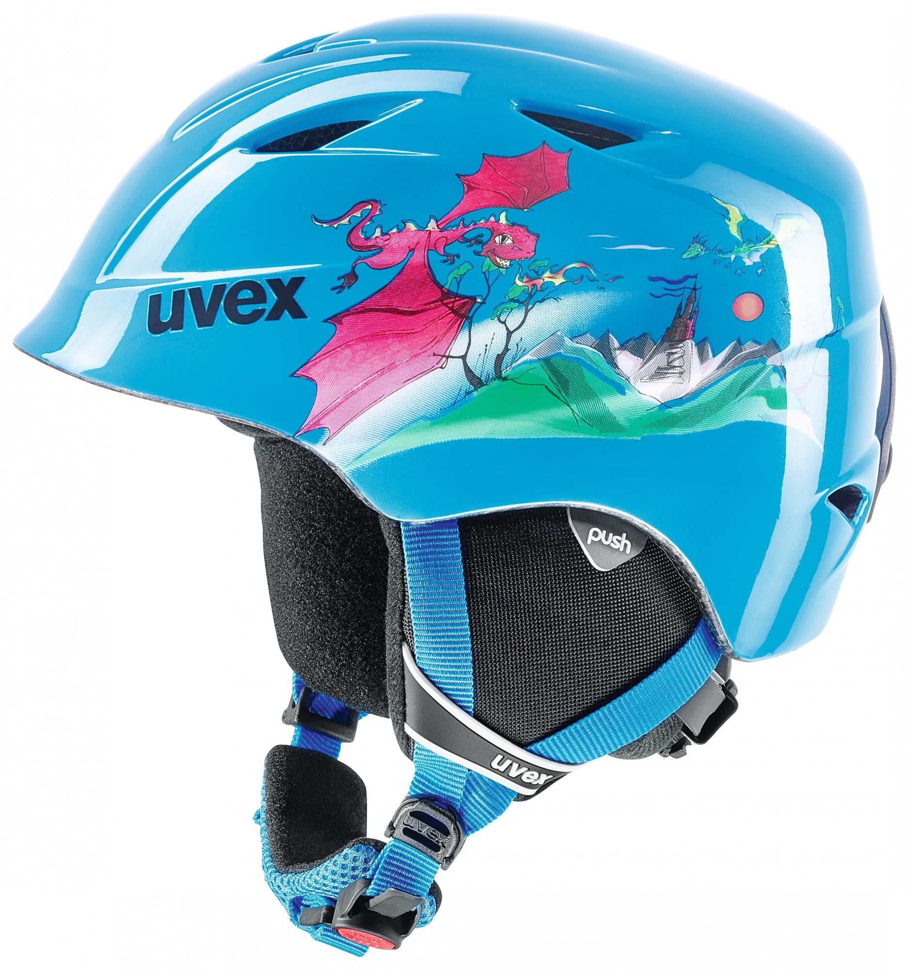 Uvex Kids Airwing 2 Blau, Ski-& Snowboardhelm, 48 -52 cm