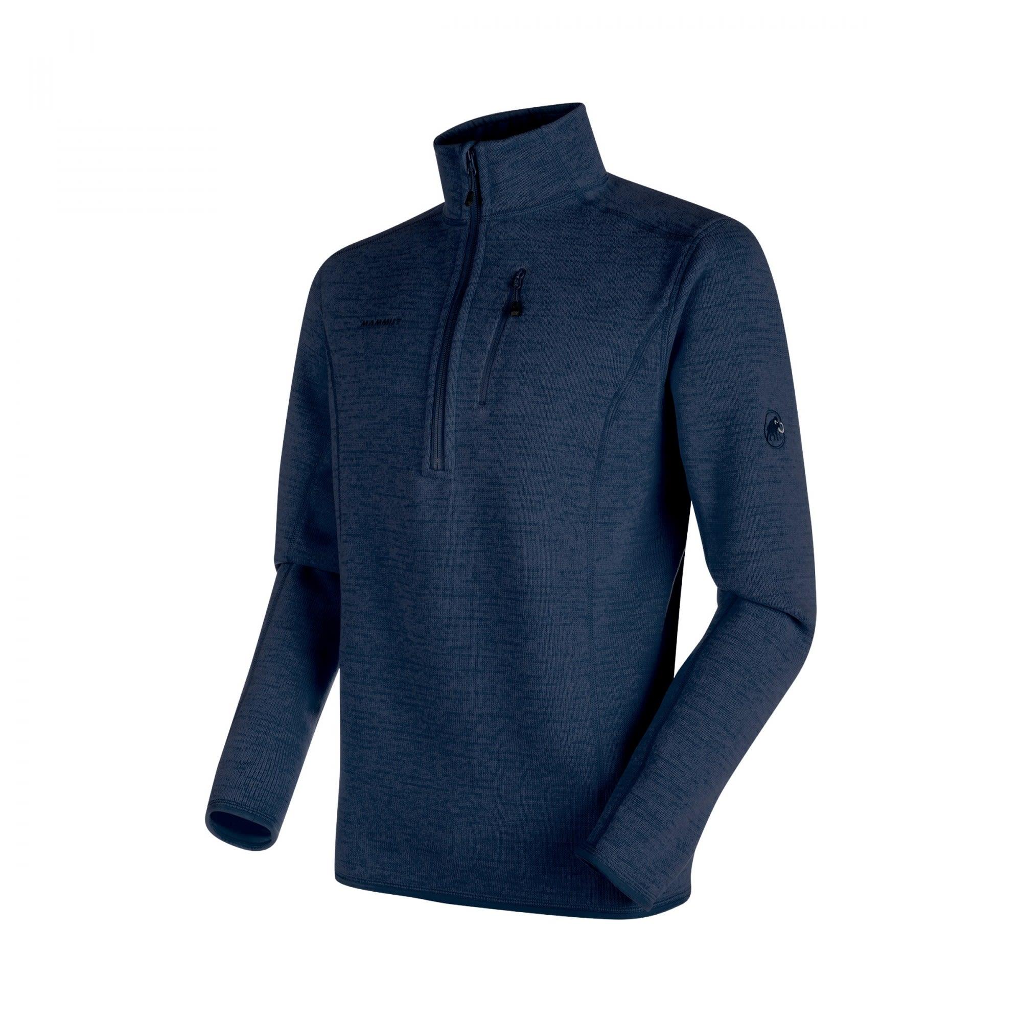 Mammut Arctic ML Half Zip Pull Blau, Male Polartec® Fleece-& Powerstretch-Pullo