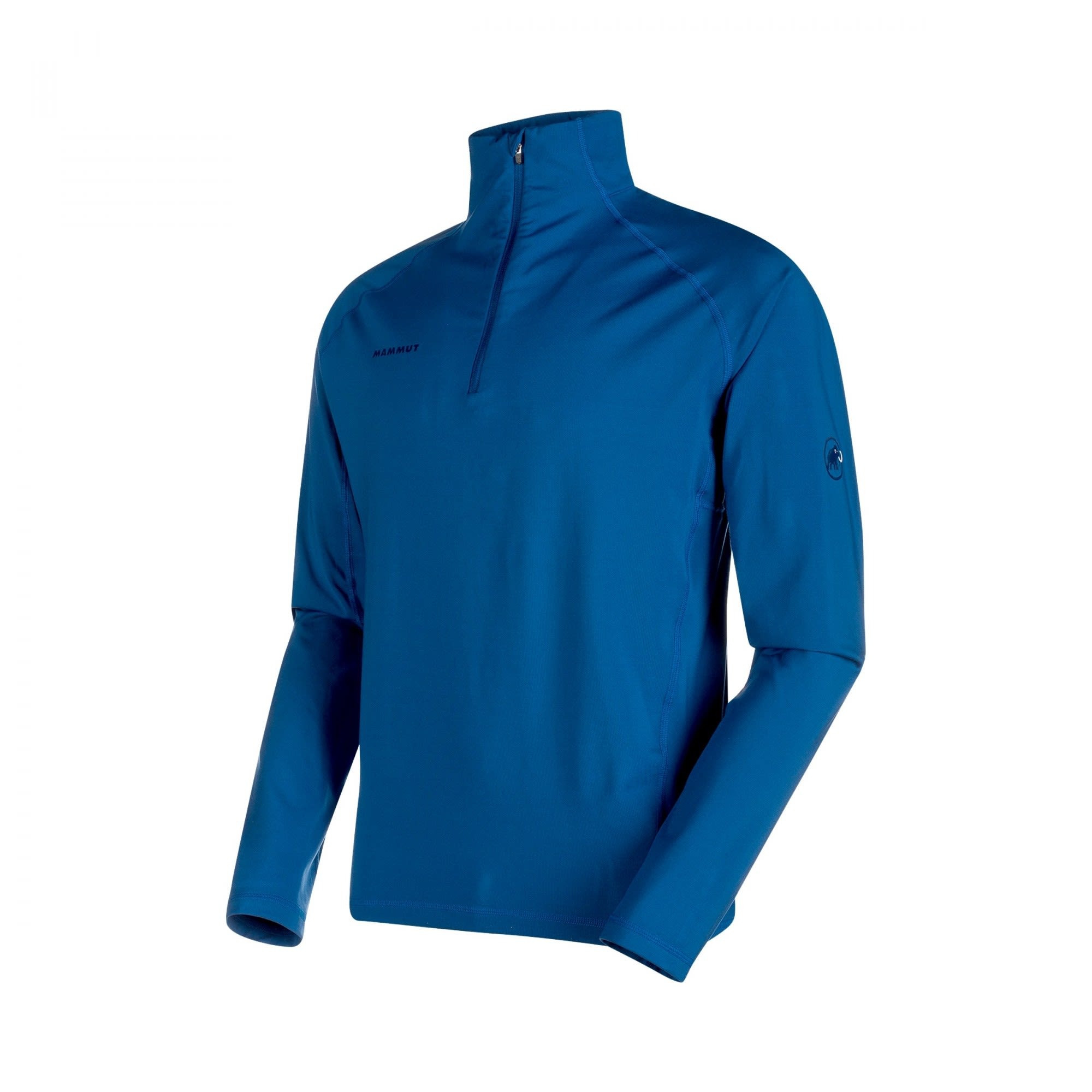 Mammut Snow ML Half Zip Pull Blau, Male Langarm-Shirt, L