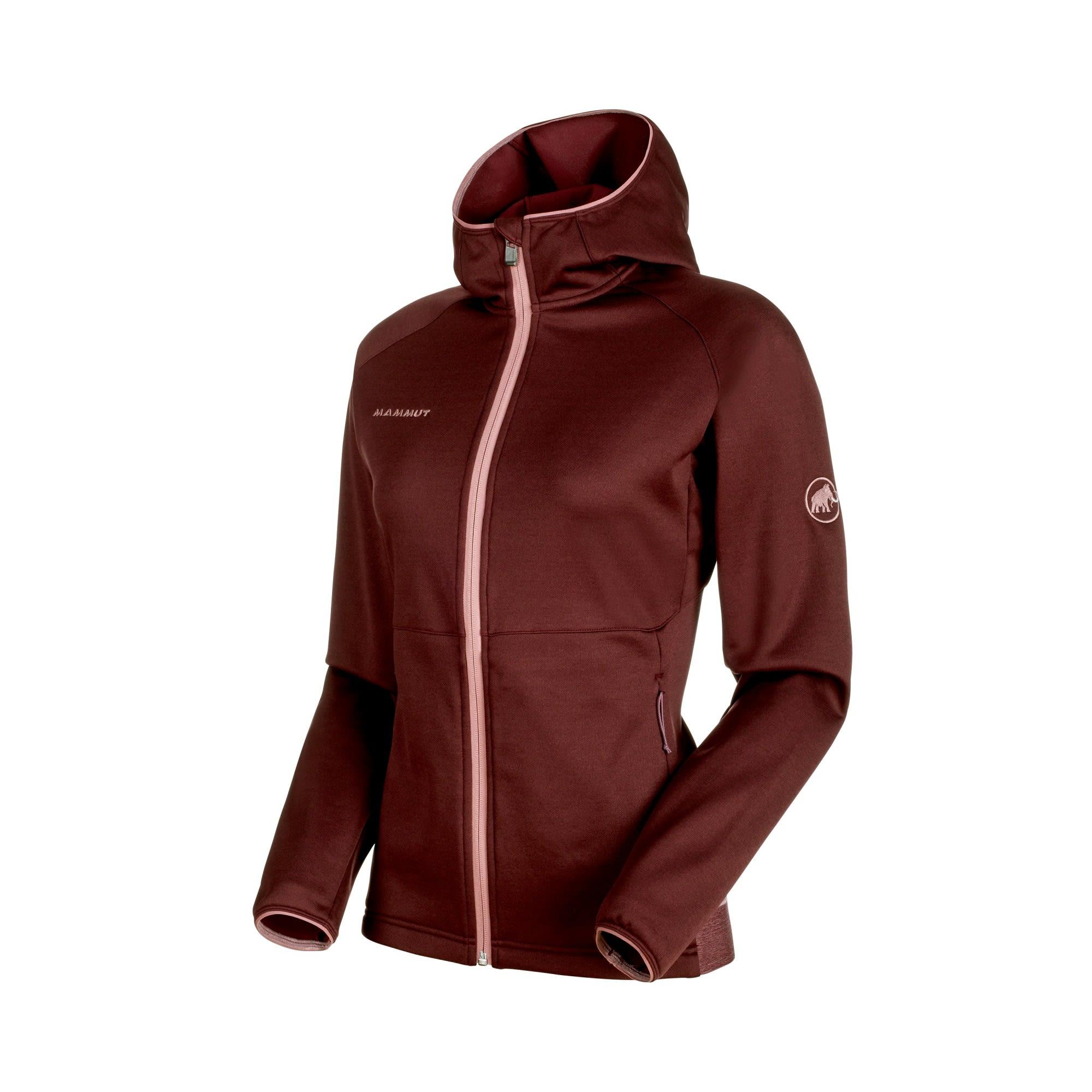 Mammut GET Away ML Hooded Jacket Lila/Violett, Female Polartec® Fleecejacke, S