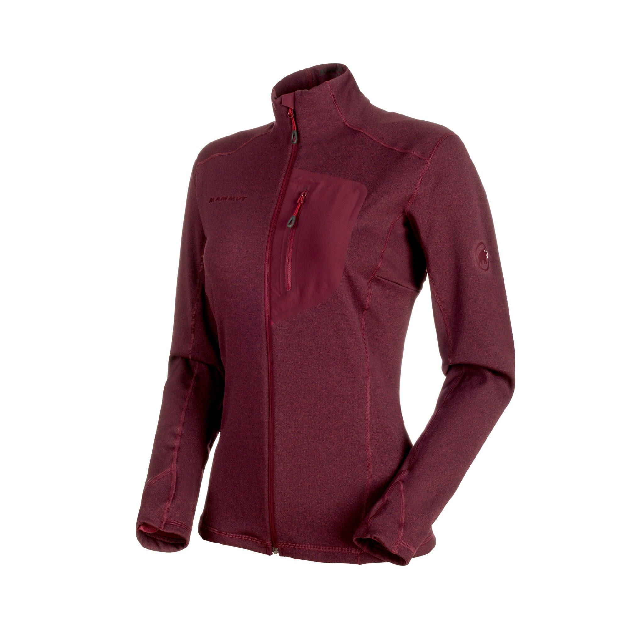 Mammut Aconcagua Light ML Jacket Lila/Violett, Female Polartec® Freizeitjacke,