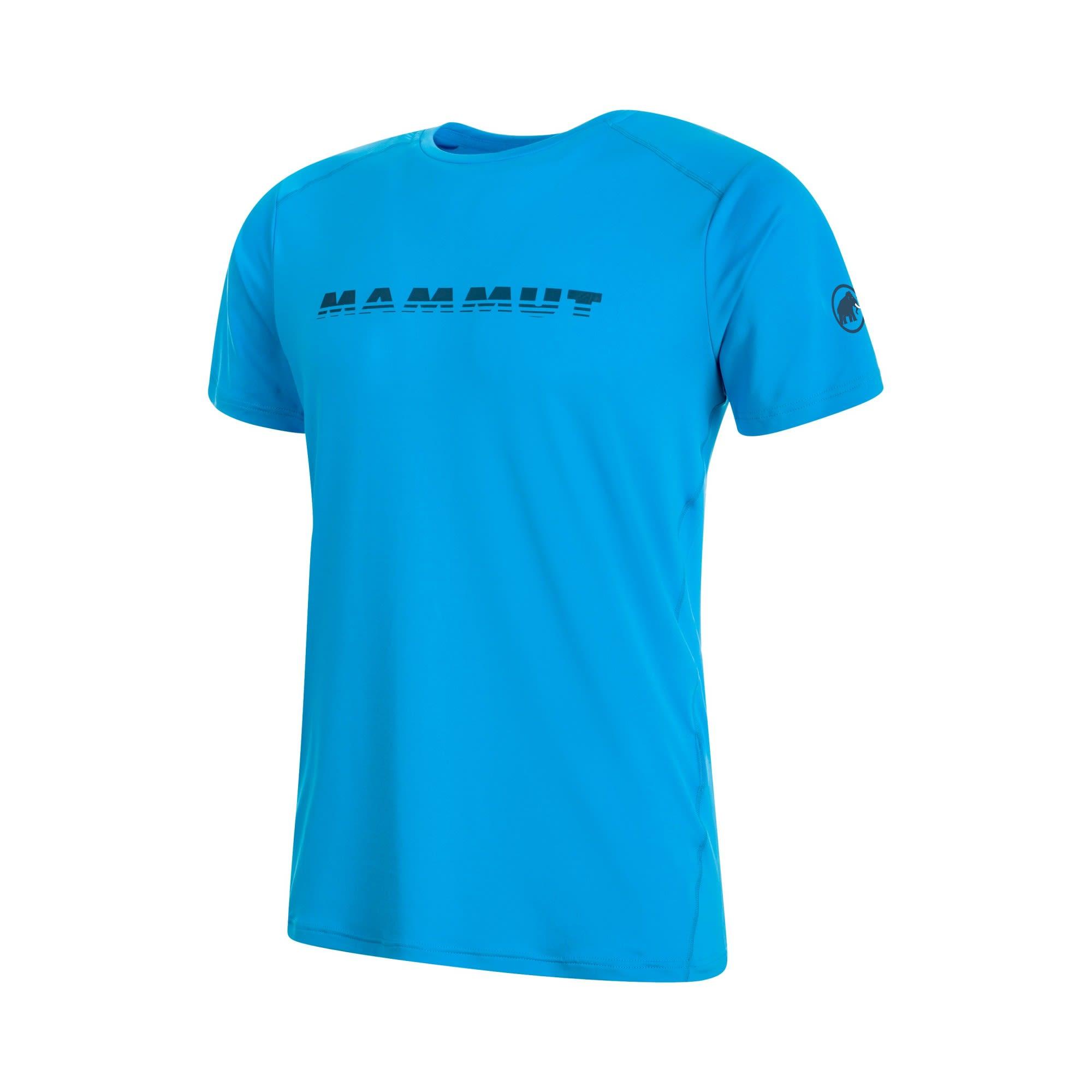 Mammut Splide Logo T-Shirt Blau, Male Kurzarm-Shirt, XL