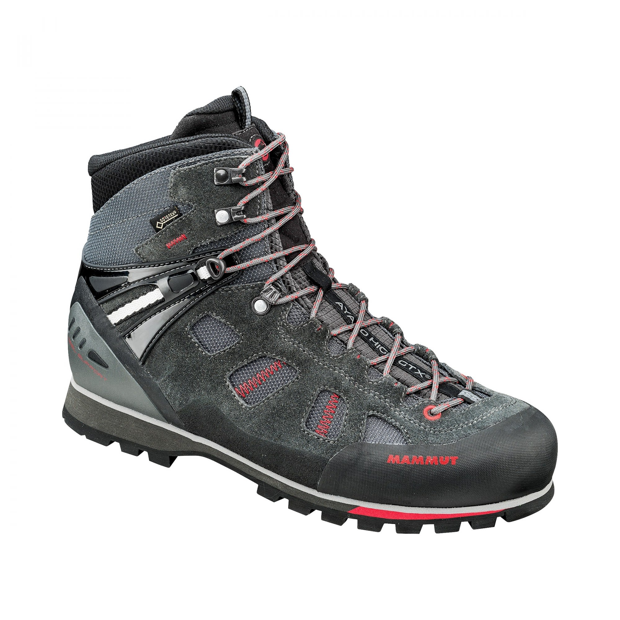 Mammut Ayako High Gtx® Grau, Male Gore-Tex® EU 47 1/3 -Farbe Graphite -Inferno