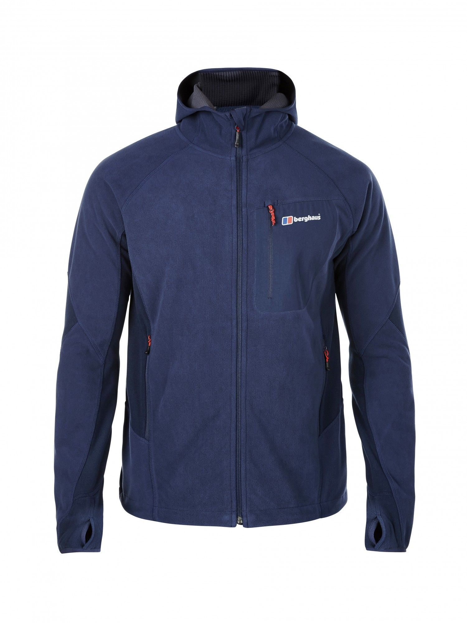 Berghaus BEN OShort-Sleeve Windproof Hooded Jacket Blau, Male Fleecejacke, S