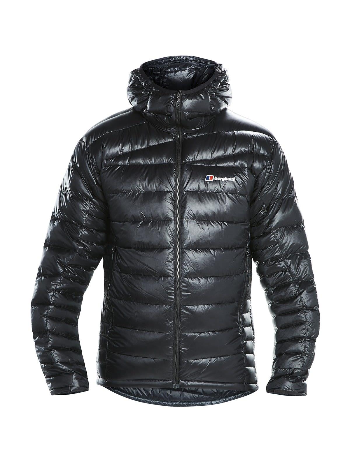 Berghaus Ramche Micro Down Jacket Schwarz, Male Daunen Daunenjacke, XL