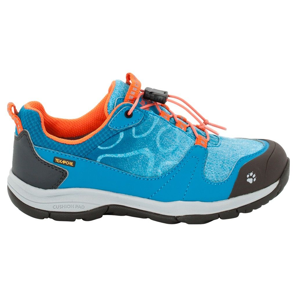 Jack Wolfskin Girls Grivla Texapore Low Blau, EU 36 -Farbe Icy Lake Blue, 36