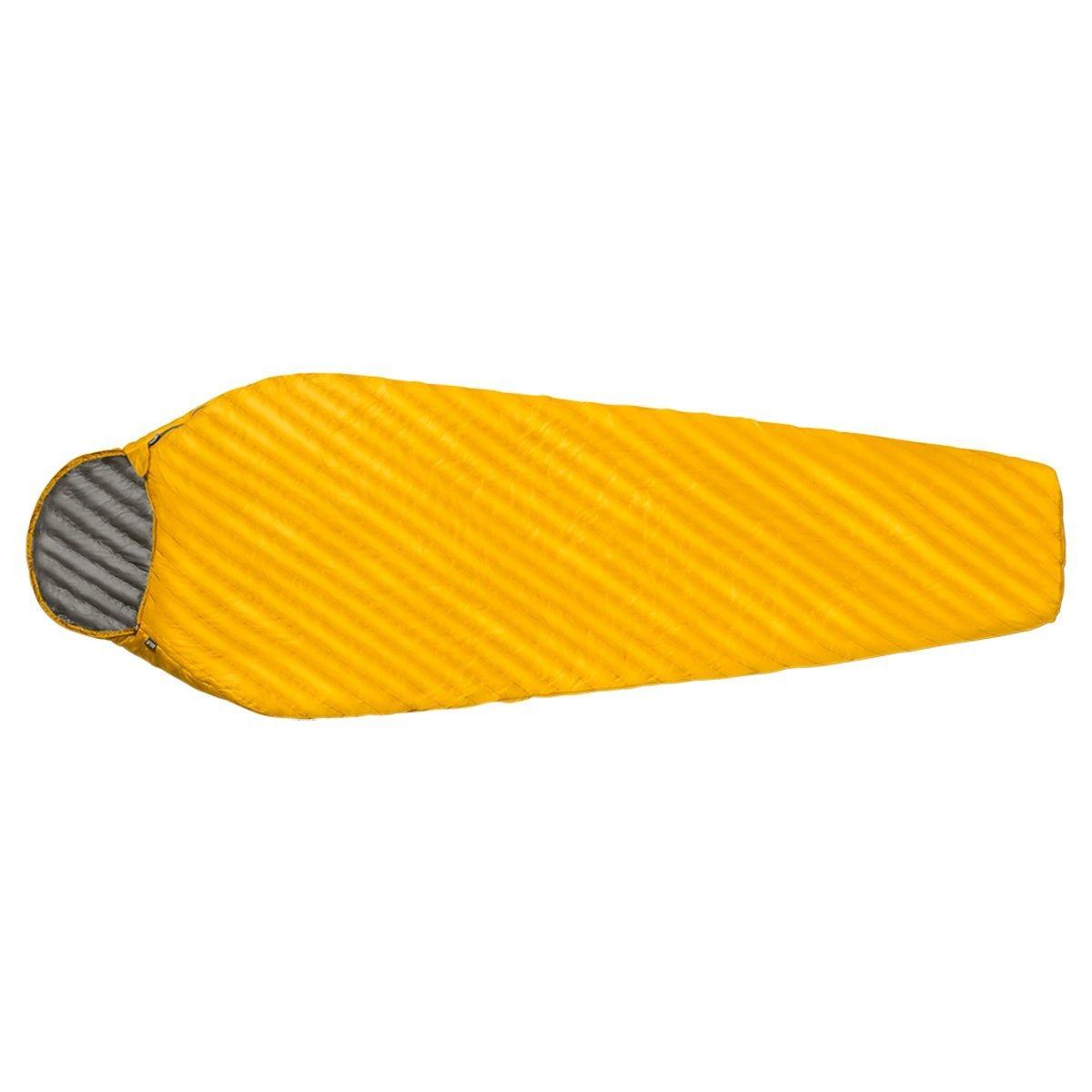 Jack Wolfskin Airflake 0 Large Gelb, Kunstfaserschlafsack, 225 cm -RV links
