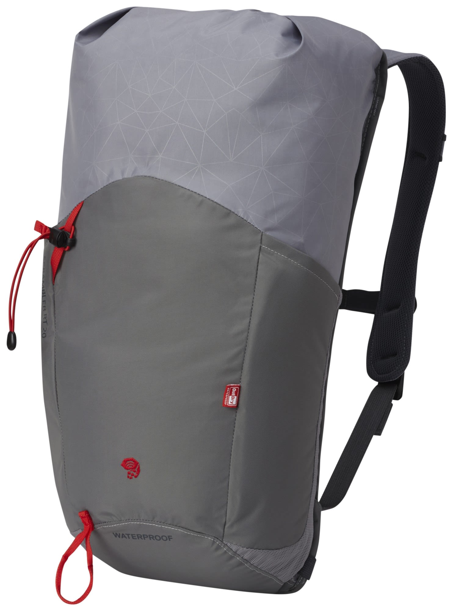 Mountain Hardwear Scrambler RT 20 Outdry Grau, Alpin-& Trekkingrucksack, 20l