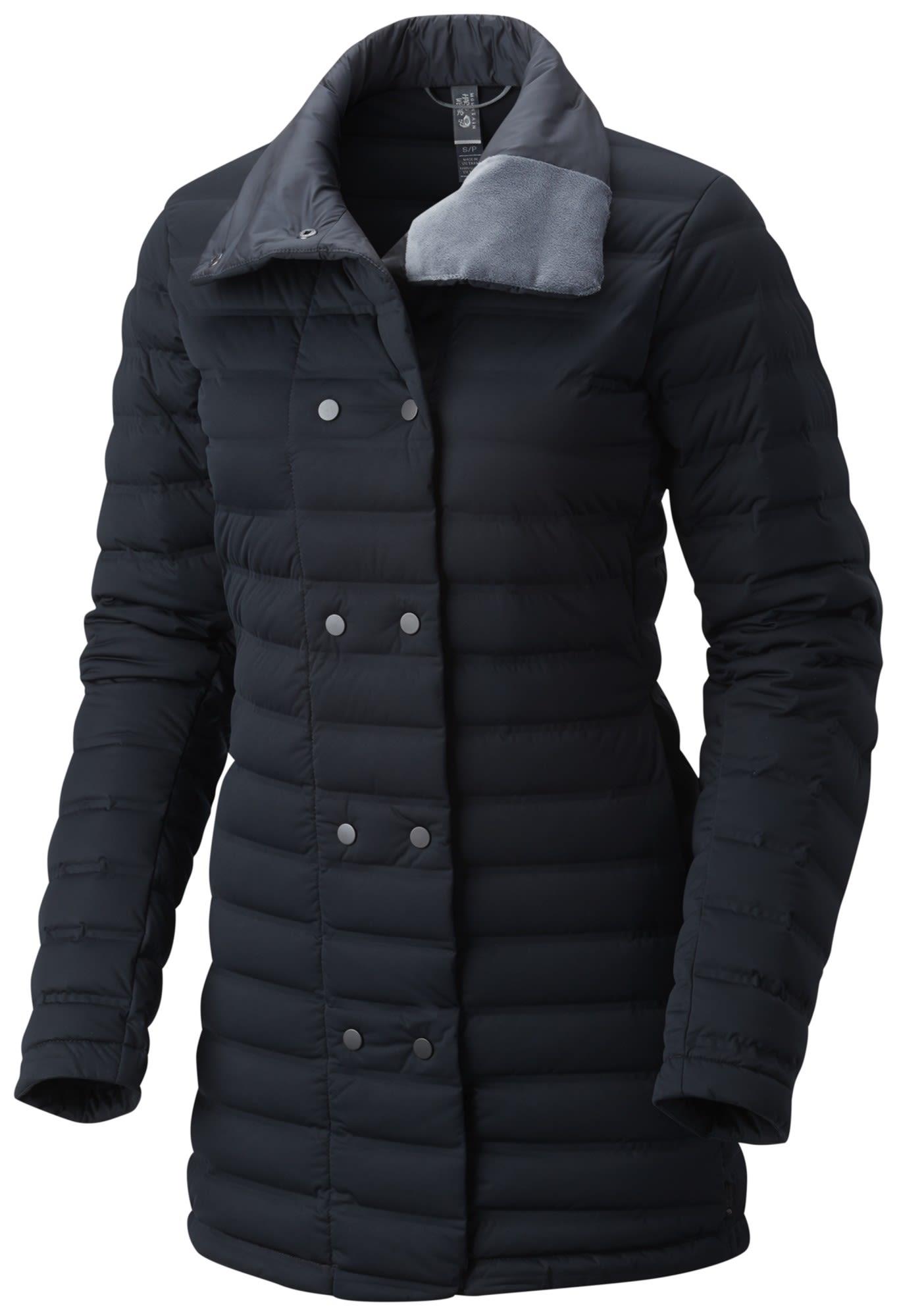 Mountain Hardwear Stretchdown Coat Schwarz, Female Daunen Freizeitmantel, L