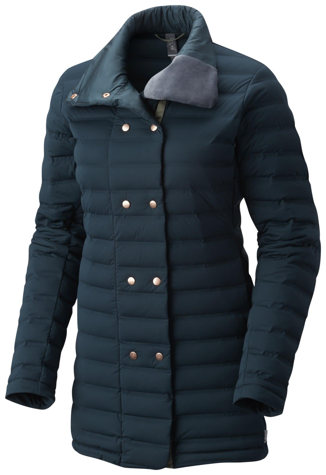 Mountain Hardwear Stretchdown Coat Blau, Female Daunen Freizeitmantel, S