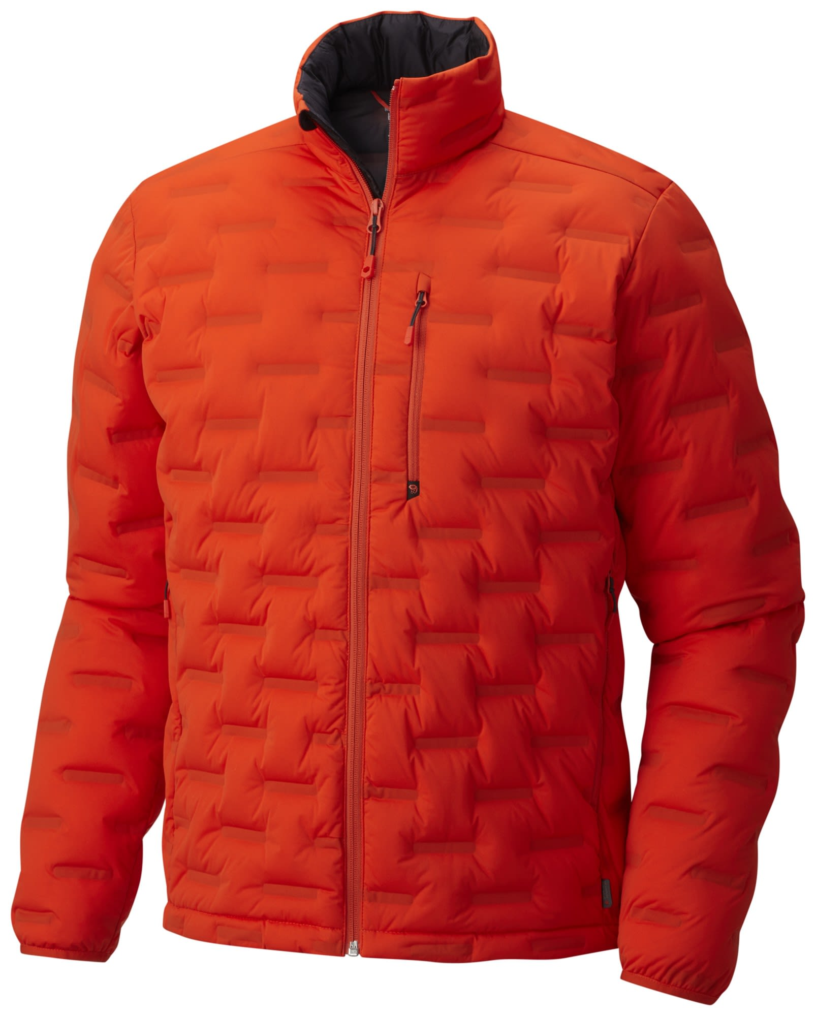Mountain Hardwear Stretchdown DS Jacket Orange, Male Daunen Freizeitjacke, S