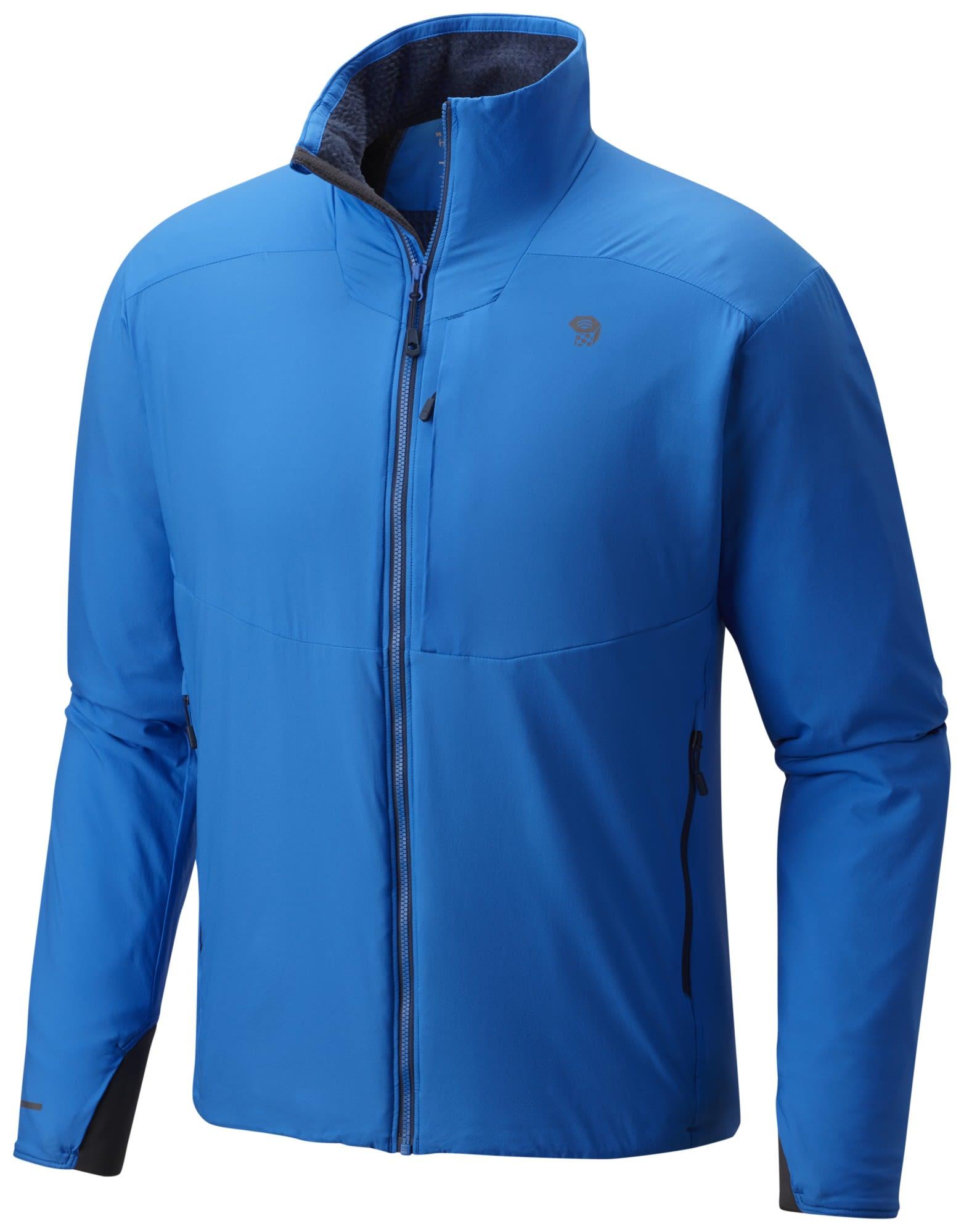 Mountain Hardwear Atherm Jacket Blau, Male Polartec® Freizeitjacke, L