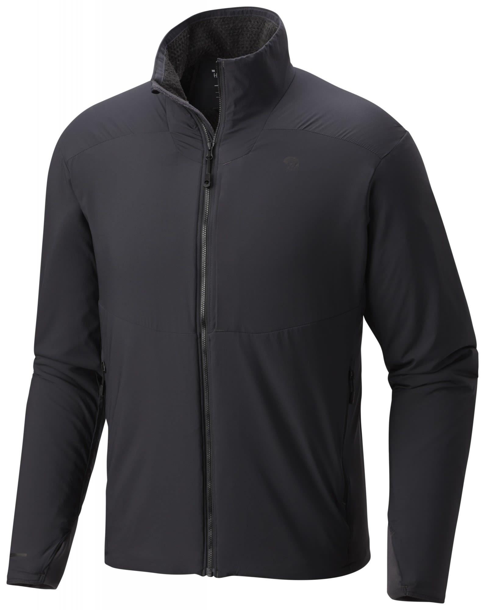Mountain Hardwear Atherm Jacket Grau, Male Polartec® Freizeitjacke, S