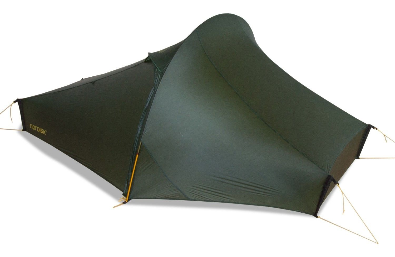 Nordisk Telemark 1 LW Aluminium Grün, 1 Person -Farbe Forest Green, 1 Person
