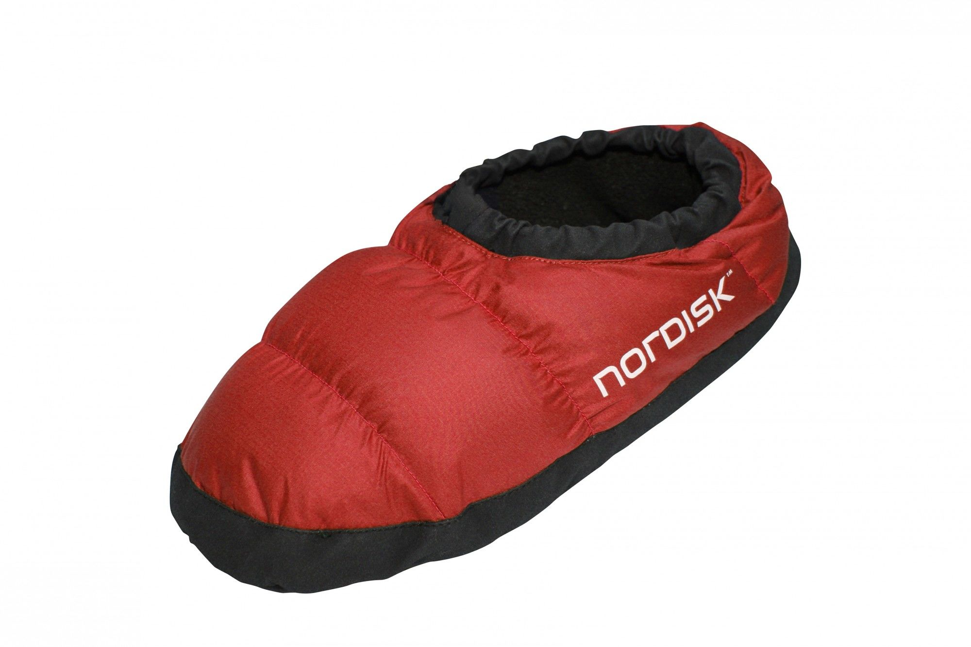 Nordisk MOS Down Shoes Rot, Daunen S -Farbe Ribbon Red, S