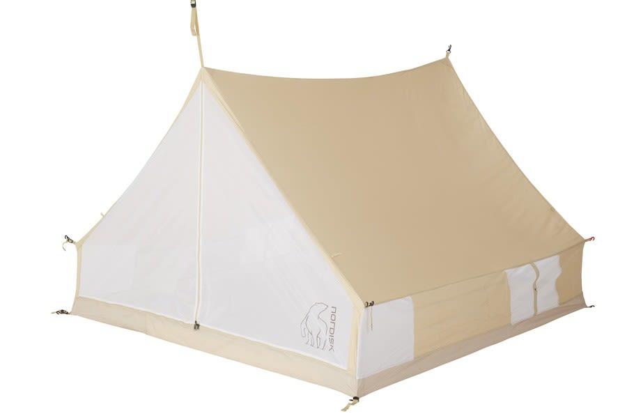 Nordisk Ydun Inner Tent Cabin Braun, 4 Personen -Farbe Beige, 4 Personen