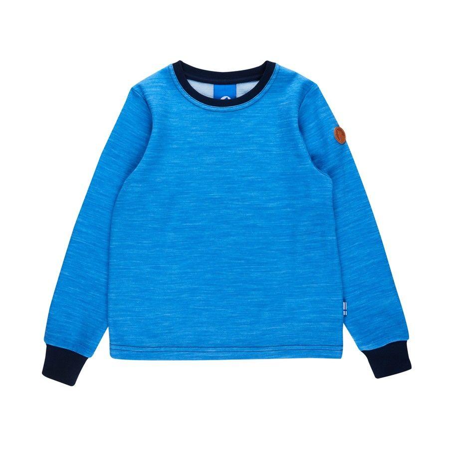 Finkid Tuntuva Wool Blau, Merino 80 -90 -Farbe French -Navy, 80 -90