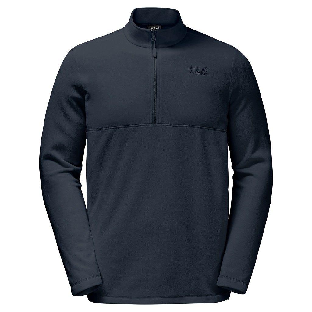 Jack Wolfskin M Gecko Sweater | Größe S,M,L,XL,XXL,XXXL | Herren Fleece-Pullov