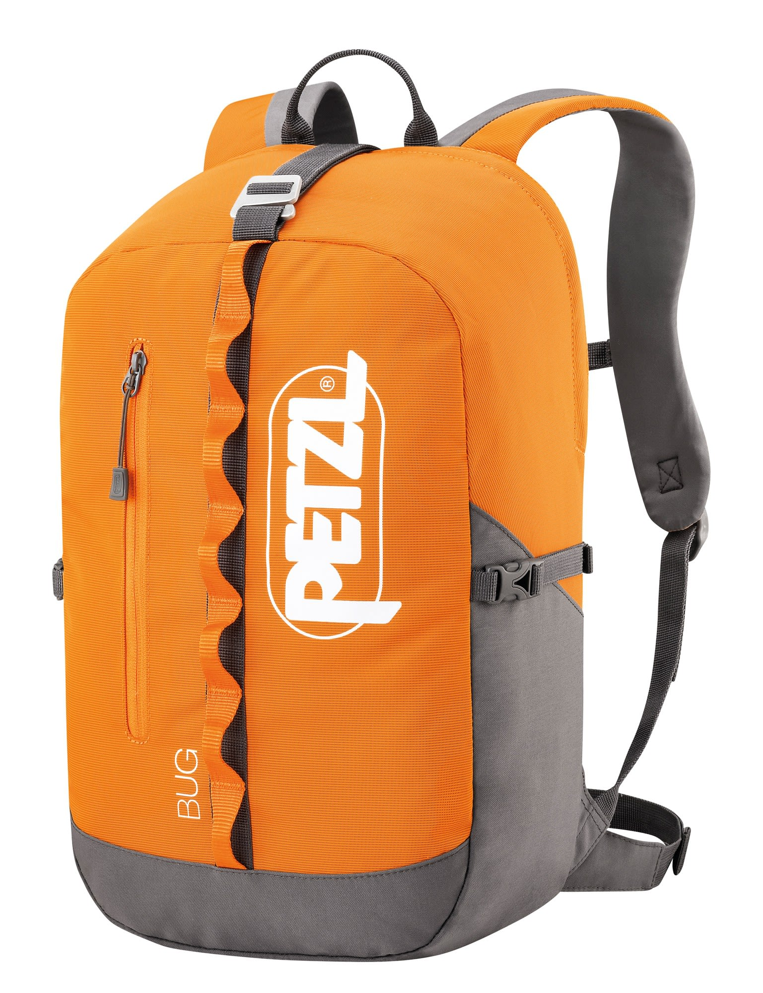 Petzl BUG (Modell Winter 2018) Orange, Kletterrucksack & Seilsack, 18l