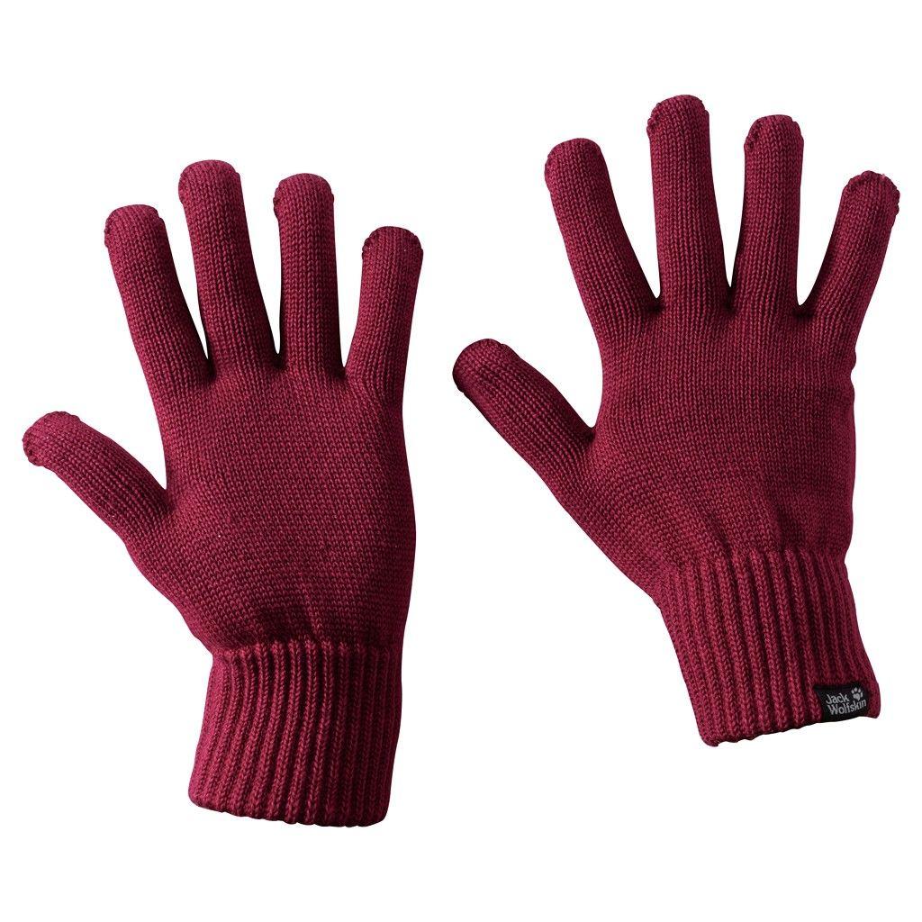 Jack Wolfskin Milton Glove Rot, Accessoires, L