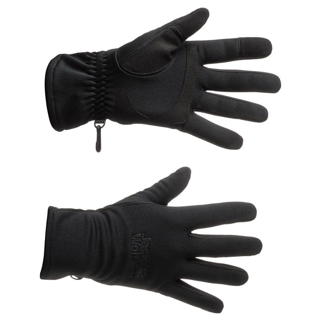Jack Wolfskin Dynamic Touch Glove Schwarz, Accessoires, XL