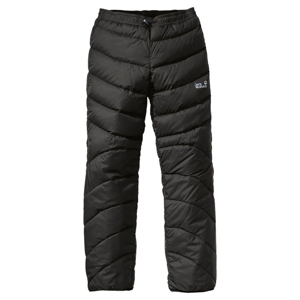 Jack Wolfskin Atmosphere Pants Schwarz, Female Daunen Hose, XL