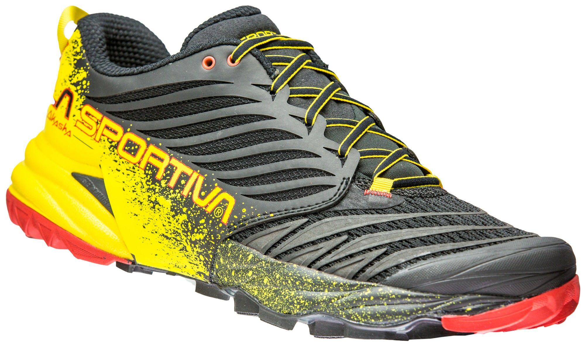 La Sportiva Akasha Gelb, Male EU 43.5 -Farbe Black -Yellow, 43.5
