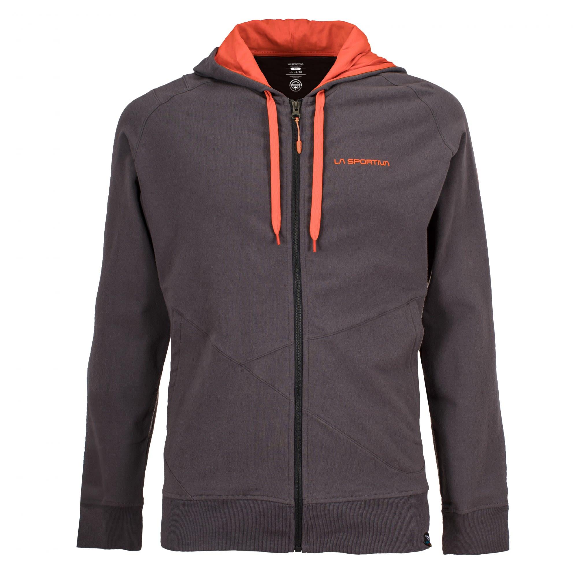 La Sportiva Rocklands Hoody Orange, Male Freizeitpullover, XXL