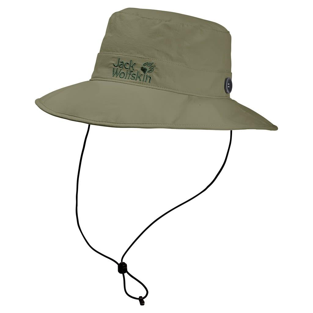 Jack Wolfskin Supplex Mesh Hat (Modell Sommer 2018) Grün, Accessoires, M