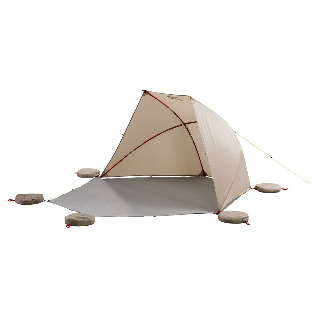Jack Wolfskin Vario Beach Shelter Braun, 2 Personen -Farbe Sahara, 2 Personen