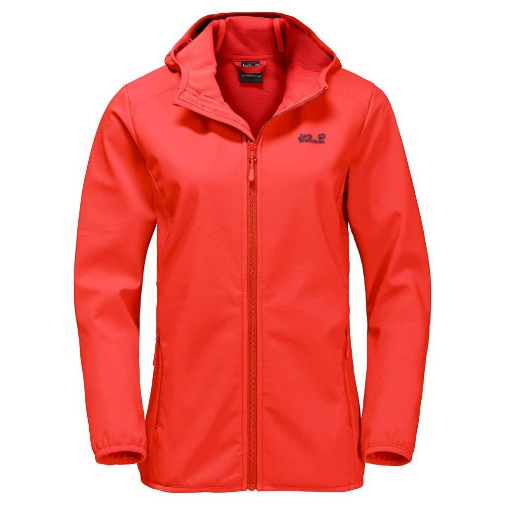 Jack Wolfskin Northern Point Jacket Rot, Female Freizeitjacke, M