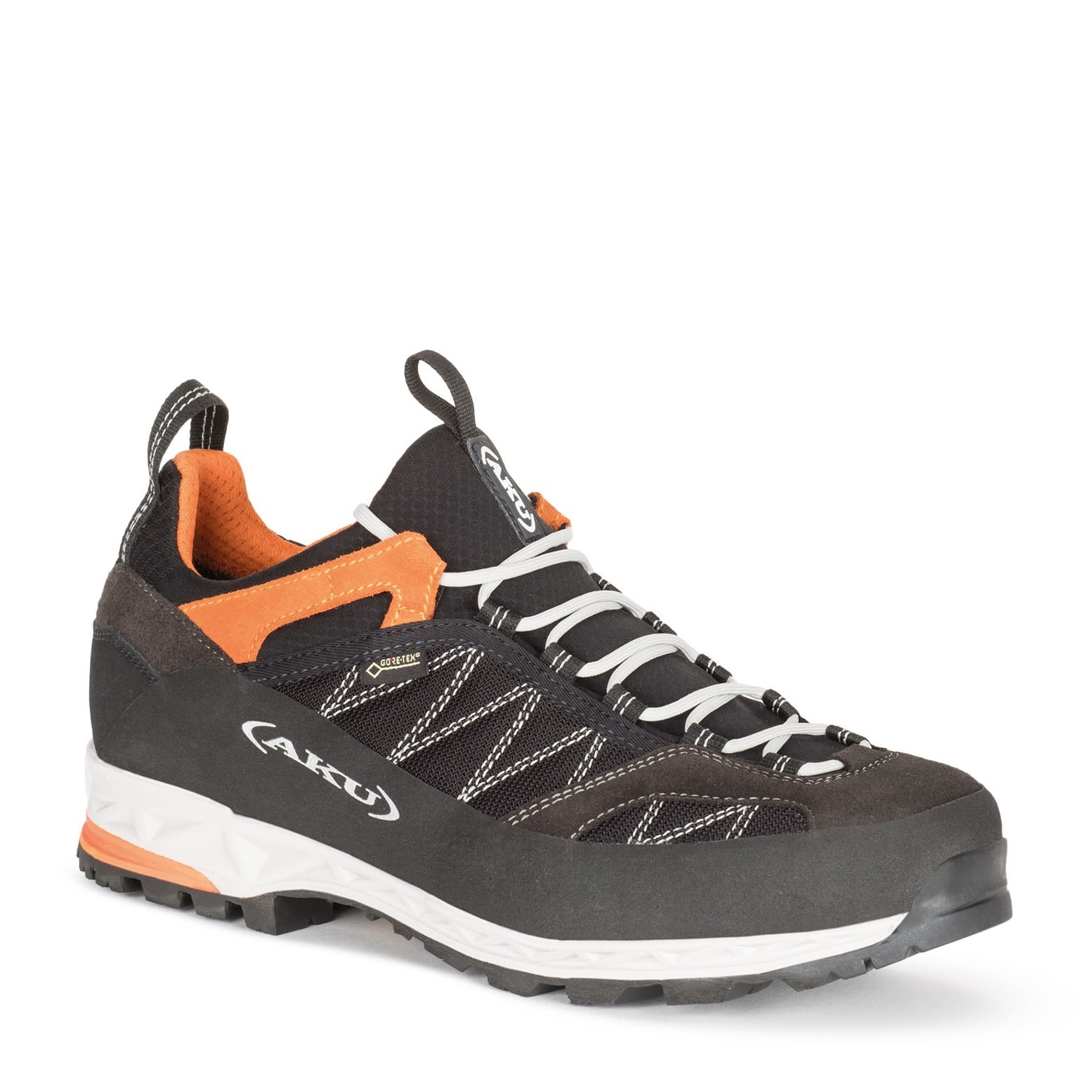 AKU Tengu Low Gtx® Schwarz, Male Gore-Tex® EU 40 -Farbe Schwarz -Orange, 40