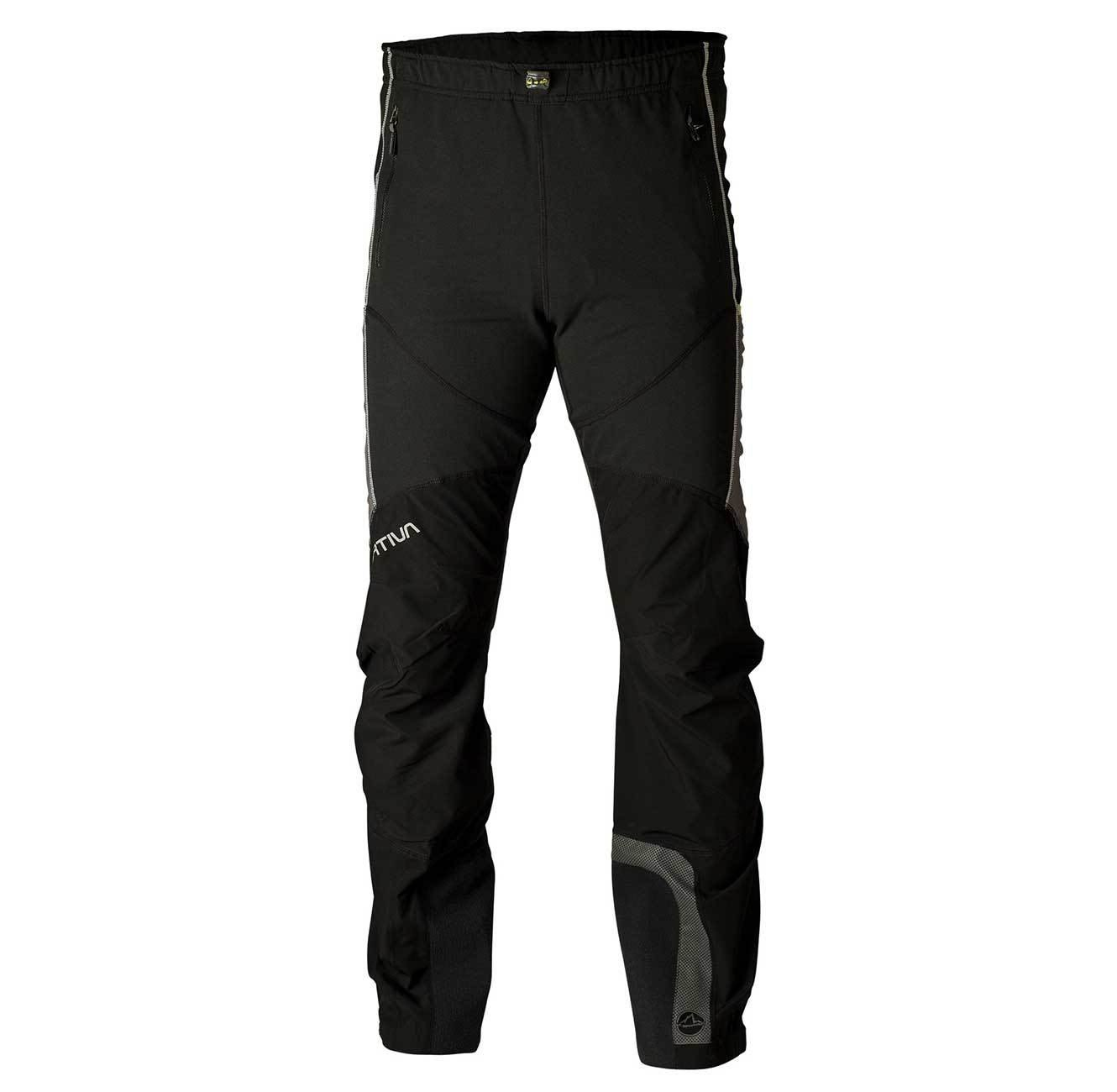 La Sportiva Solid Pant Schwarz, Male Hose, Mens -Regular