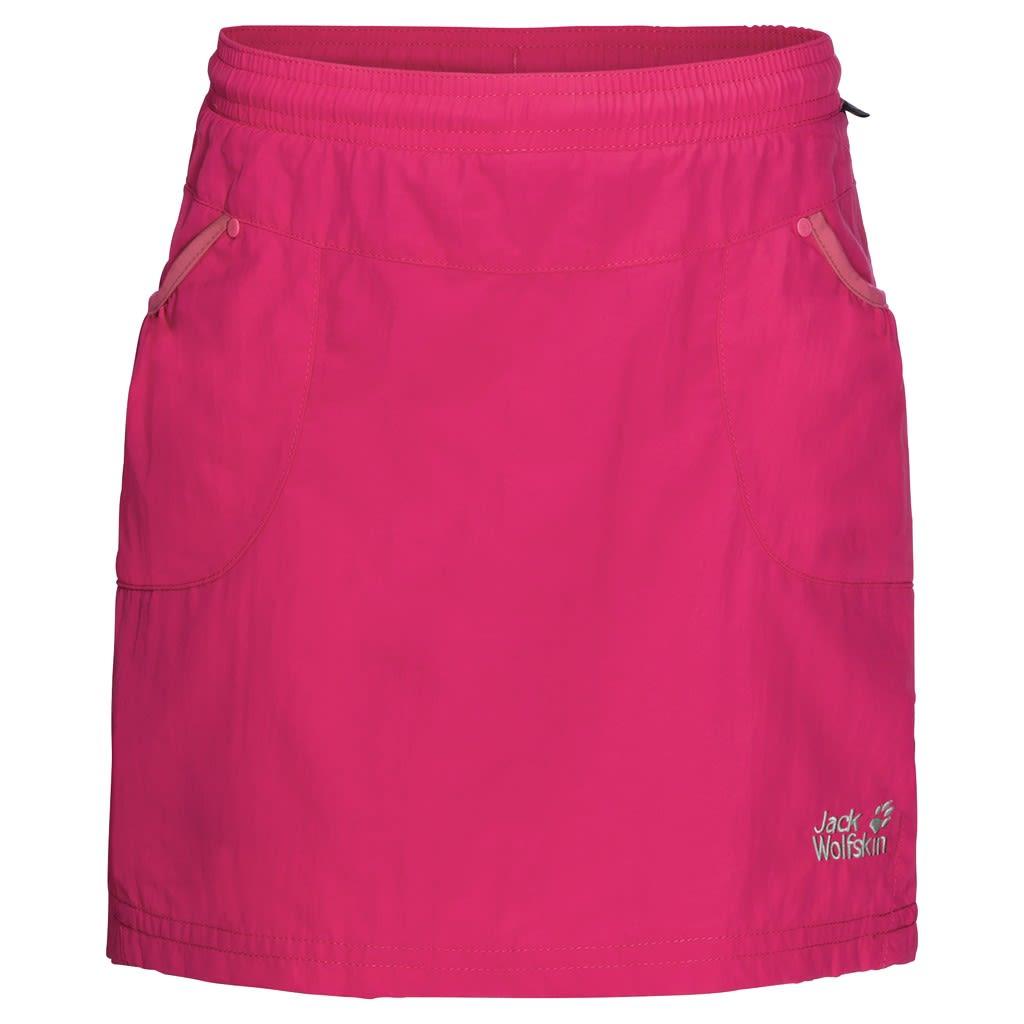 Jack Wolfskin Girls Cricket 2 Skort Pink, Female 152 -Farbe Tropic Pink, 152