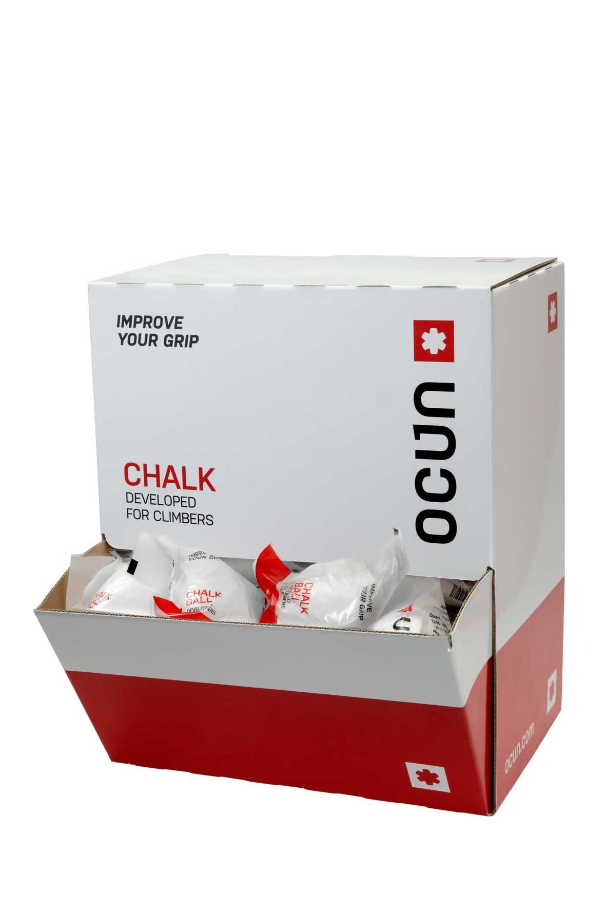 Ocun Chalk BOX Balls Weiß, Klettern, One Size