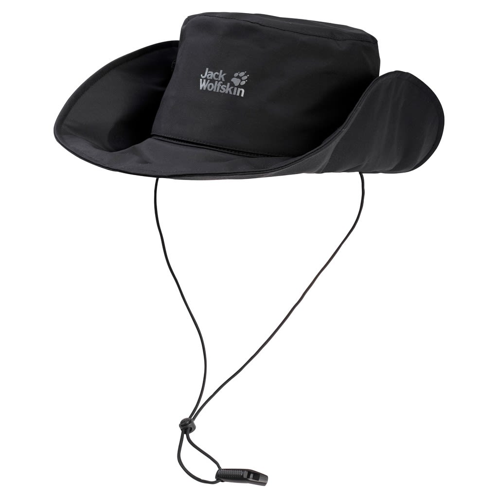 Jack Wolfskin Texapore 2in1 Hat Schwarz, Accessoires, M