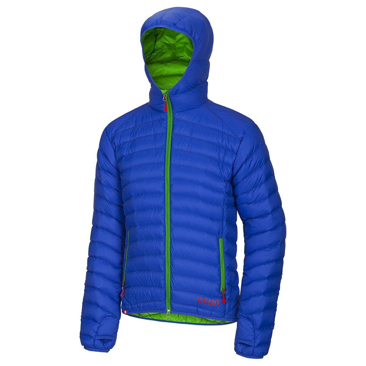 Ocun Men Tsunami Down Jacket Blau, Male Daunen Daunenjacke, M