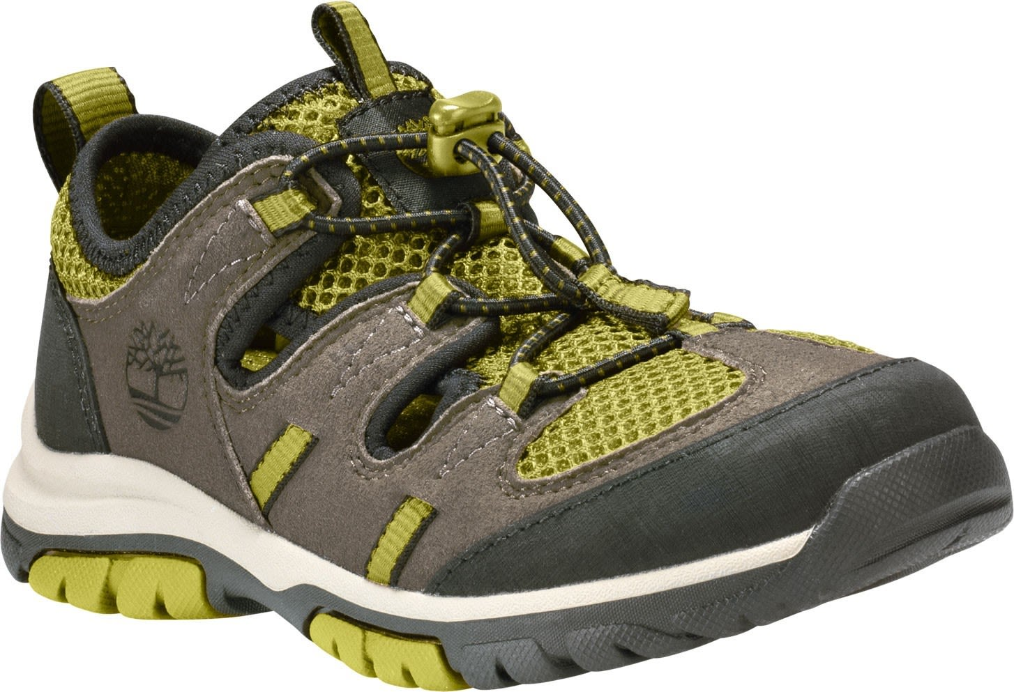 Timberland Junior Zip Trail Fisherman Sandal Grün, EU 37 -Farbe Canteen, 37