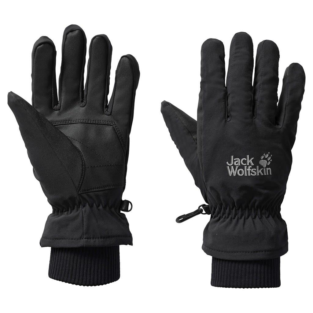 Jack Wolfskin Flexshield Basic Glove Schwarz, Accessoires, XS