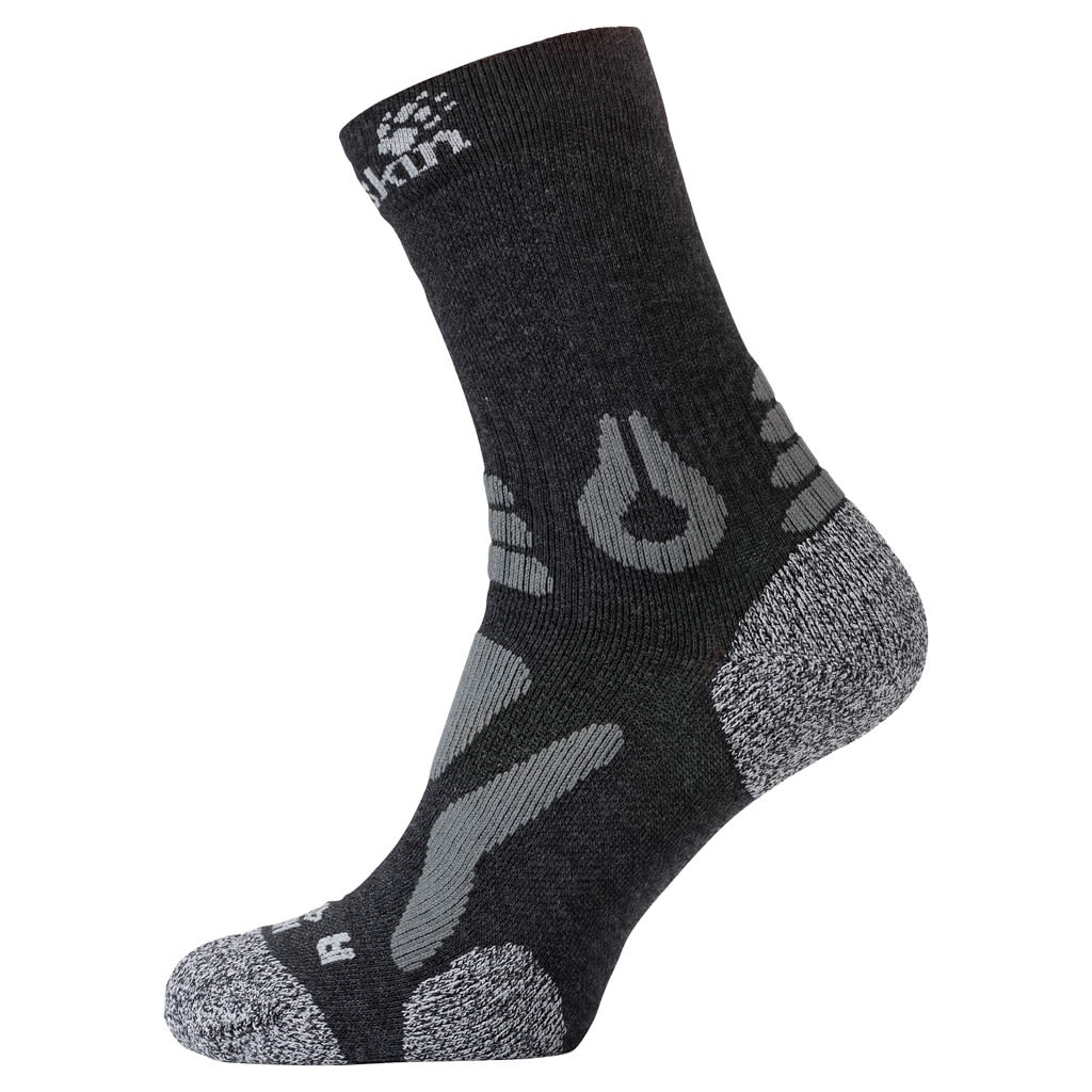 Jack Wolfskin Hiking Pro Classic CUT Schwarz, Socken, EU 41-43