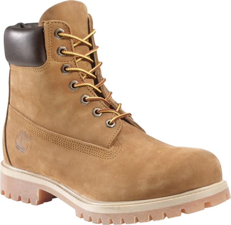 Timberland Icon 6-Inch Boot Beige, Male PrimaLoft® EU 46 -Farbe Rust Nubuck, 46