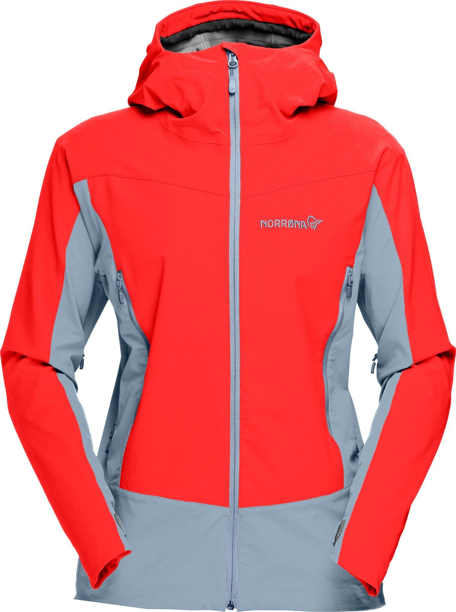 Norrona Falketind Windstopper Hybrid Jacket Rot, Female Freizeitjacke, L