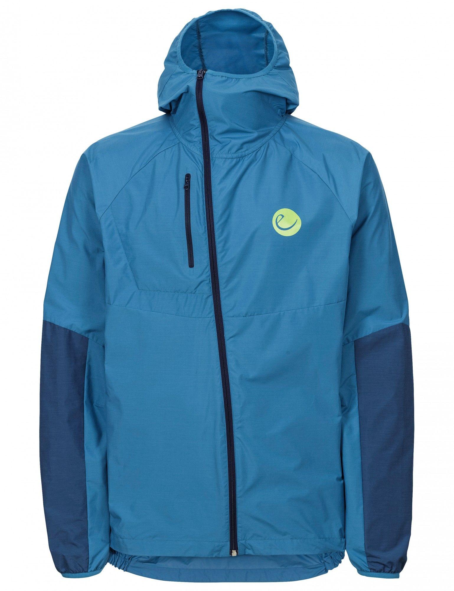 Edelrid Windlord Jacket Blau, Male Freizeitjacke, XS