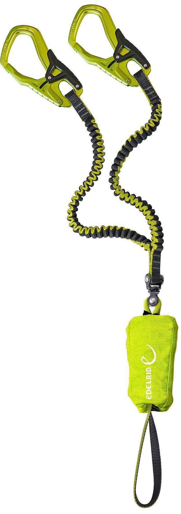 Edelrid Cable Comfort 5.0 Grün, Klettersteig-Ausrüstung, One Size