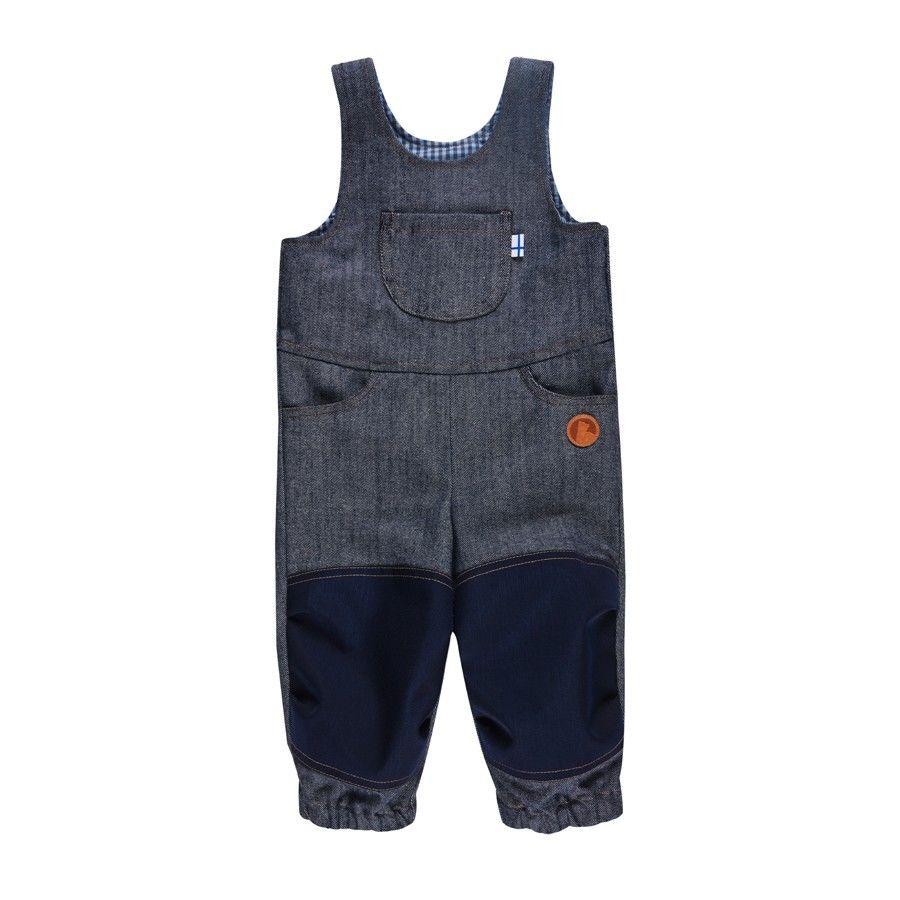 Finkid Kuutio Blau, 60 -70 -Farbe Denim Jeans -Navy, 60 -70