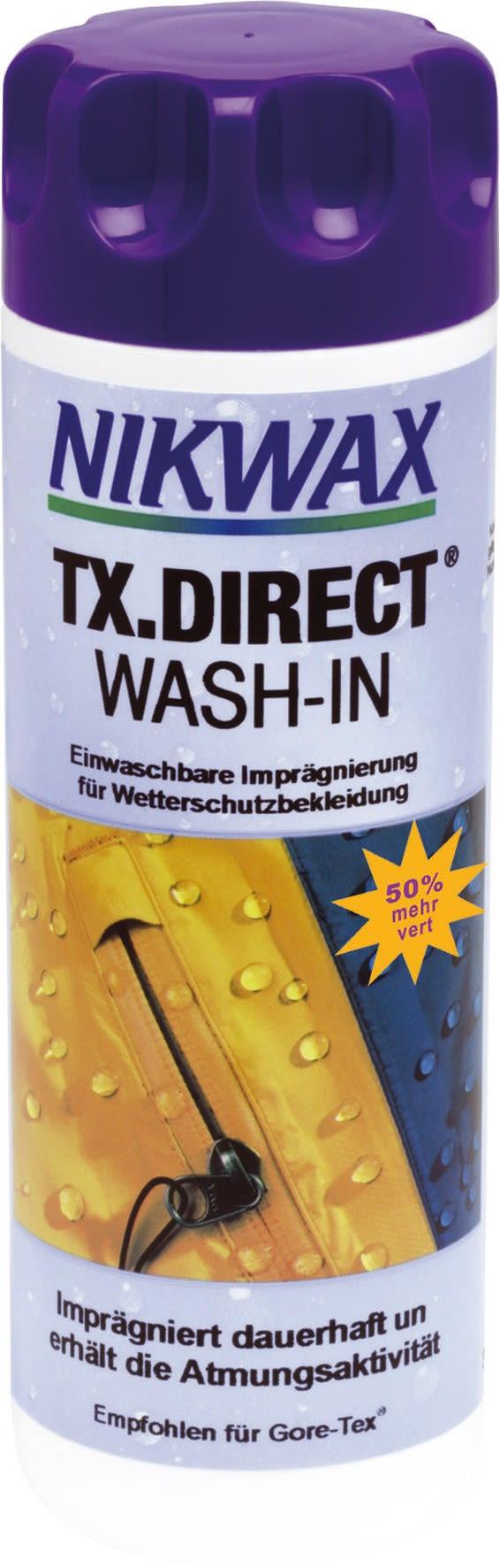 Vaude Nikwax TX-Direct 300ml 300 ml -Farbe Uni, 300 ml