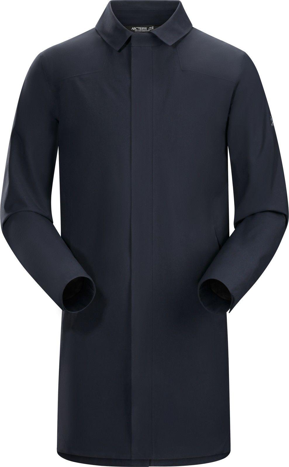 Arcteryx Keppel Trench Coat Blau, Male Gore-Tex® Freizeitmantel, L