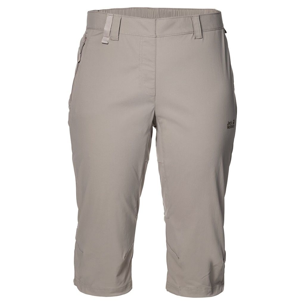 Jack Wolfskin Activate Light 3/4 Pants Beige, Female Hose, 36